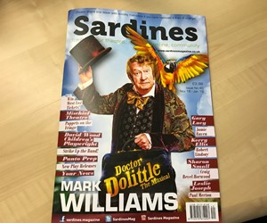We are proud to be featured in November's issue of Sardines Magazine
